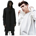 Men's Hoodie Sweatshirt New Special Design Spring Autumn Brand Men Solid Hoody Cardigan Outerwear Oversize Loose Fit Coat M-3XL