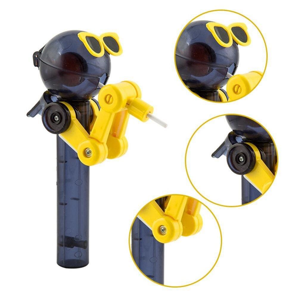 2018 Heißer Verkauf Kreative Persönlichkeit Spielzeug Lutscherhalterung  Dekompression Spielzeug Lollipop Roboter Spielzeug Geschenk Neu Kommen