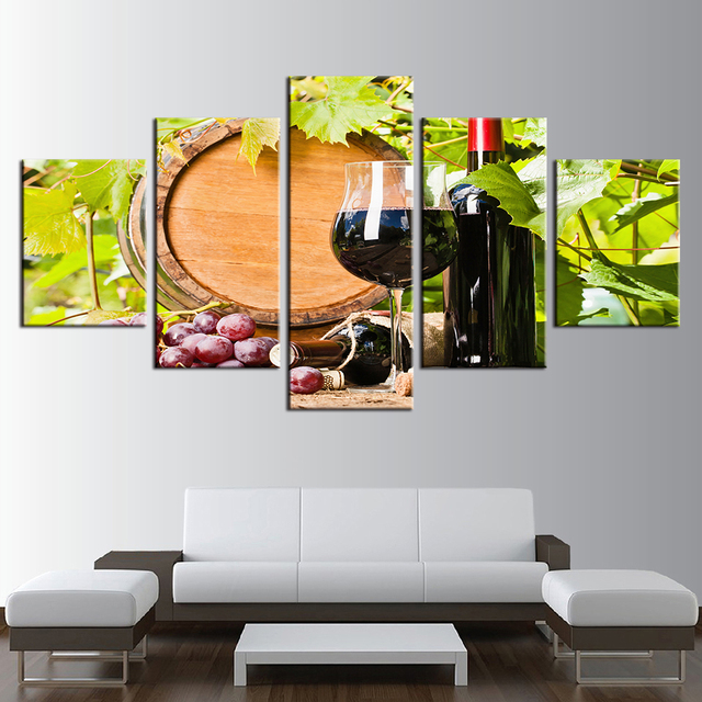 Cork And Canvas Painting Wall Art