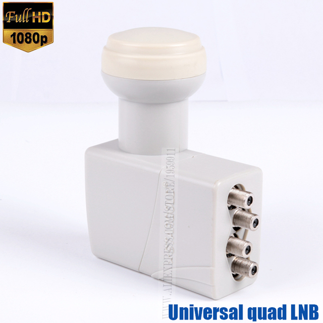 Original HD digital universal LNB universal ku band quad lnb Original brand high quality waterproof satellite TV tuner lnbf