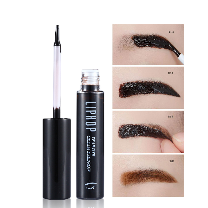 1pc Tattoo Eyebrow Gel Super Lasting 72h Gentle Peel Off Natural