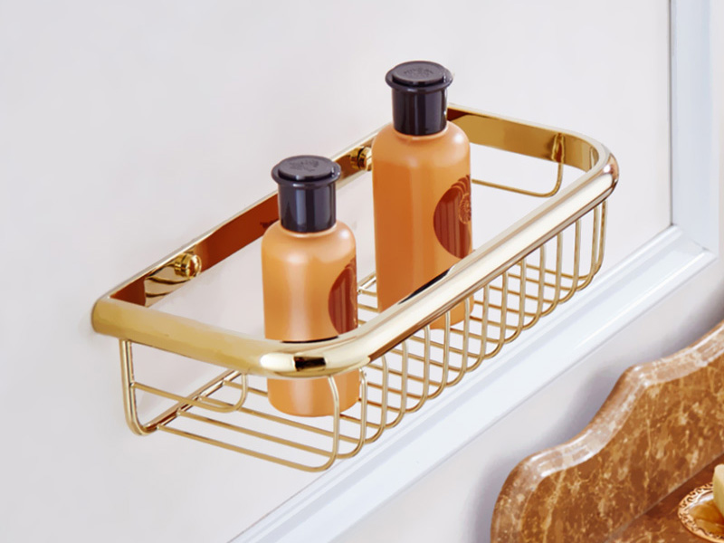 gold bathroom shelf 1