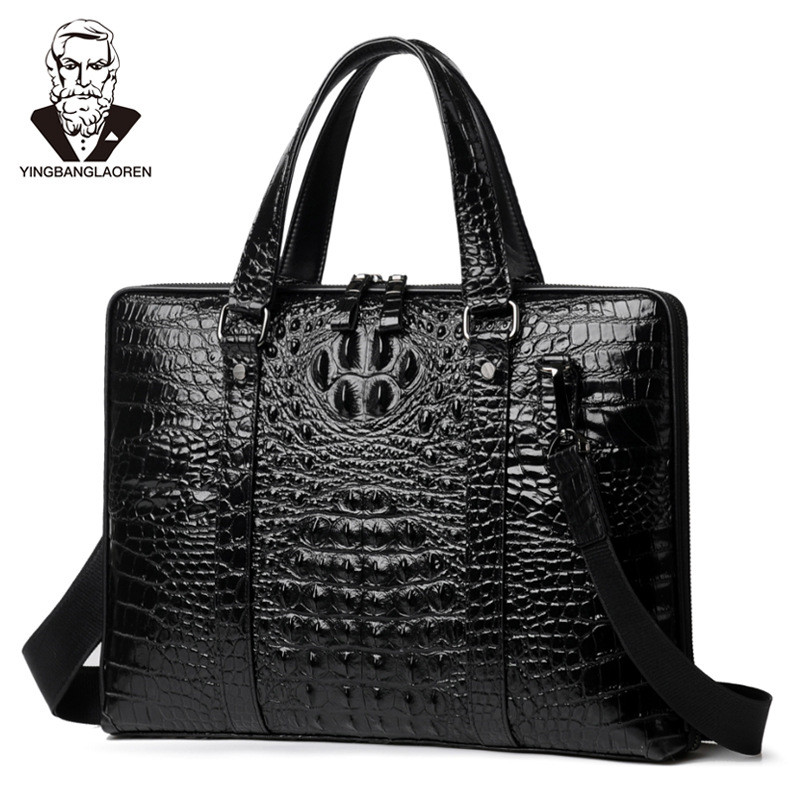 все цены на New collection 2018 fashion men bags, men casual leather messenger bag, high quality man brand business bag men's handbag 14