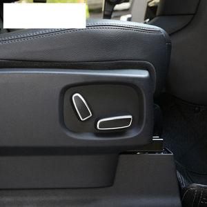 Автомобильный переключатель регулировки сиденья Накладка для Land Rover Discovery 4 Range Rover Sport Evoque автомобильные аксессуары