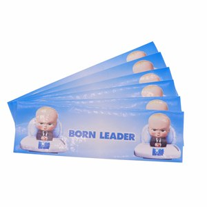 Image 2 - 6pcs/many baby boss disposable water bottle stickers party decoration birthday wedding supplies home