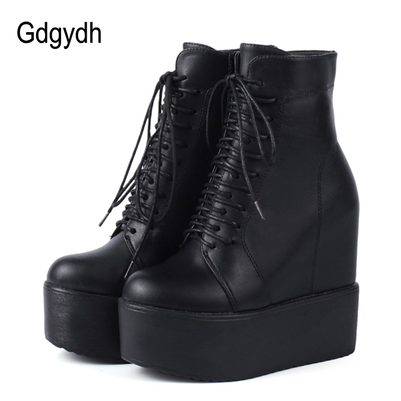 Gdgydh 2020 Spring Wedges Ankle Booties