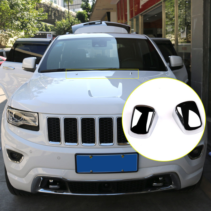 2014 2018 For Jeep Grand Cherokee Outer Front Hood Water