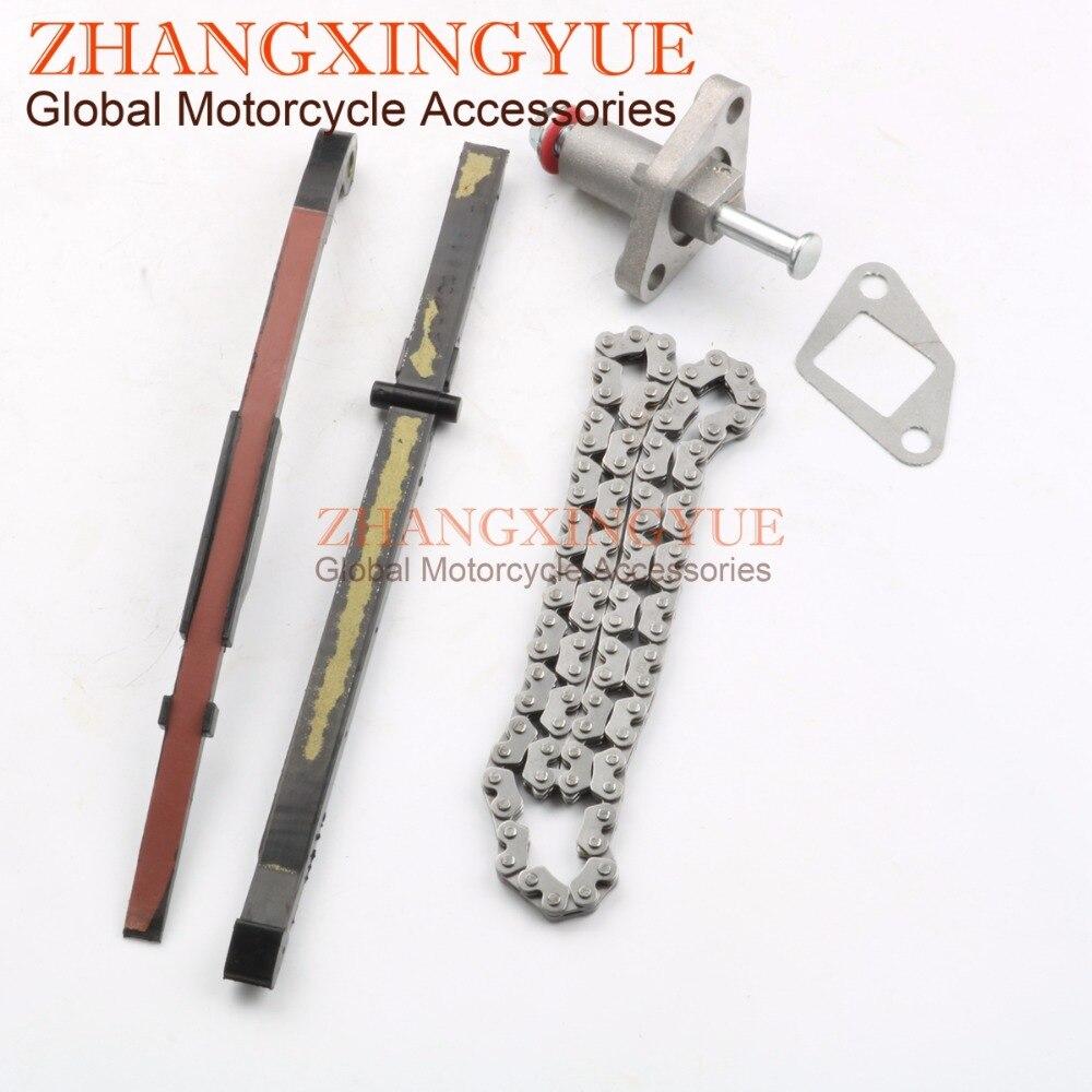 Cam Chain Tensioner Kits rubber guide Cam chain for Gy6 50cc 80cc 100cc 139QMB 139QMA