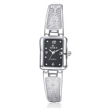 New Fashion Rhinestone Watches Women Luxury Stainless Steel Bracelet watches Ladies Quartz Dress Watches reloj mujer Clock 533