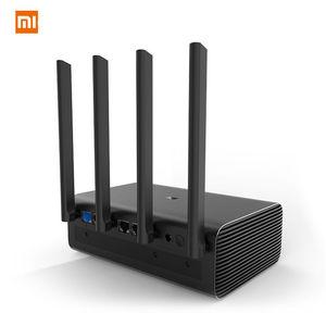 Image 2 - Original Xiaomi Mi WiFi Wireless Router HD/Pro 2533Mbps 2.4G/5GHz Dual Band Roteador WiFi Repeater HD 1TB 2TB 8TB English APP