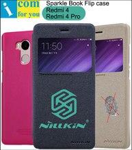 Nillkin Искра Книга Кожа Флип Чехол Для Xiaomi Redmi 4 Pro 5.0 дюймов-5 дюймов