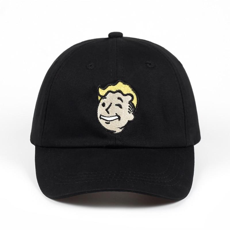 ffe1c29f20259 Pip boy Baseball Cap Fallout 4 Dad Hat Fallout Shelter Pip-Boy Embroidery  100%
