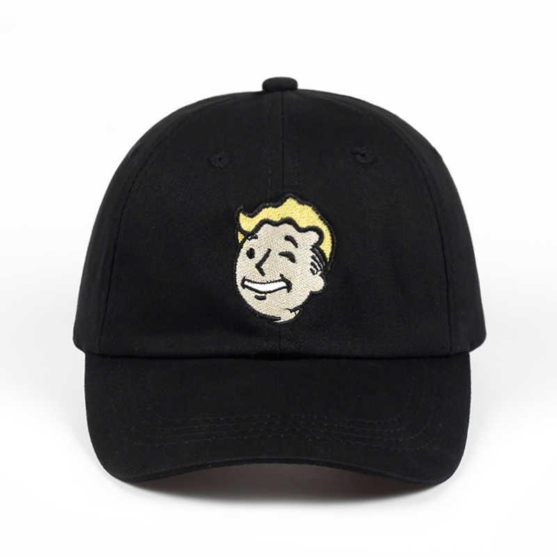 Pip boy Baseball Cap Fallout 4 Dad Hat Fallout Shelter Pip-Boy Embroidery  100% 3c536d40217b