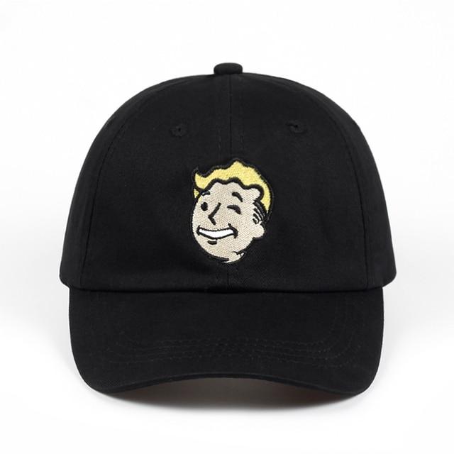 Pip boy Baseball Cap Fallout 4 Dad Hat Fallout Shelter Pip-Boy Embroidery  100% Cotton Snapback Caps Game Lovers Women Men Hat c3d0fdd891b3