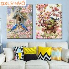 5D DIY Diamond Painting Birds Cartoon Animals Mosaic Embroidery Cross stitch Rhinestone Crafts Decoration