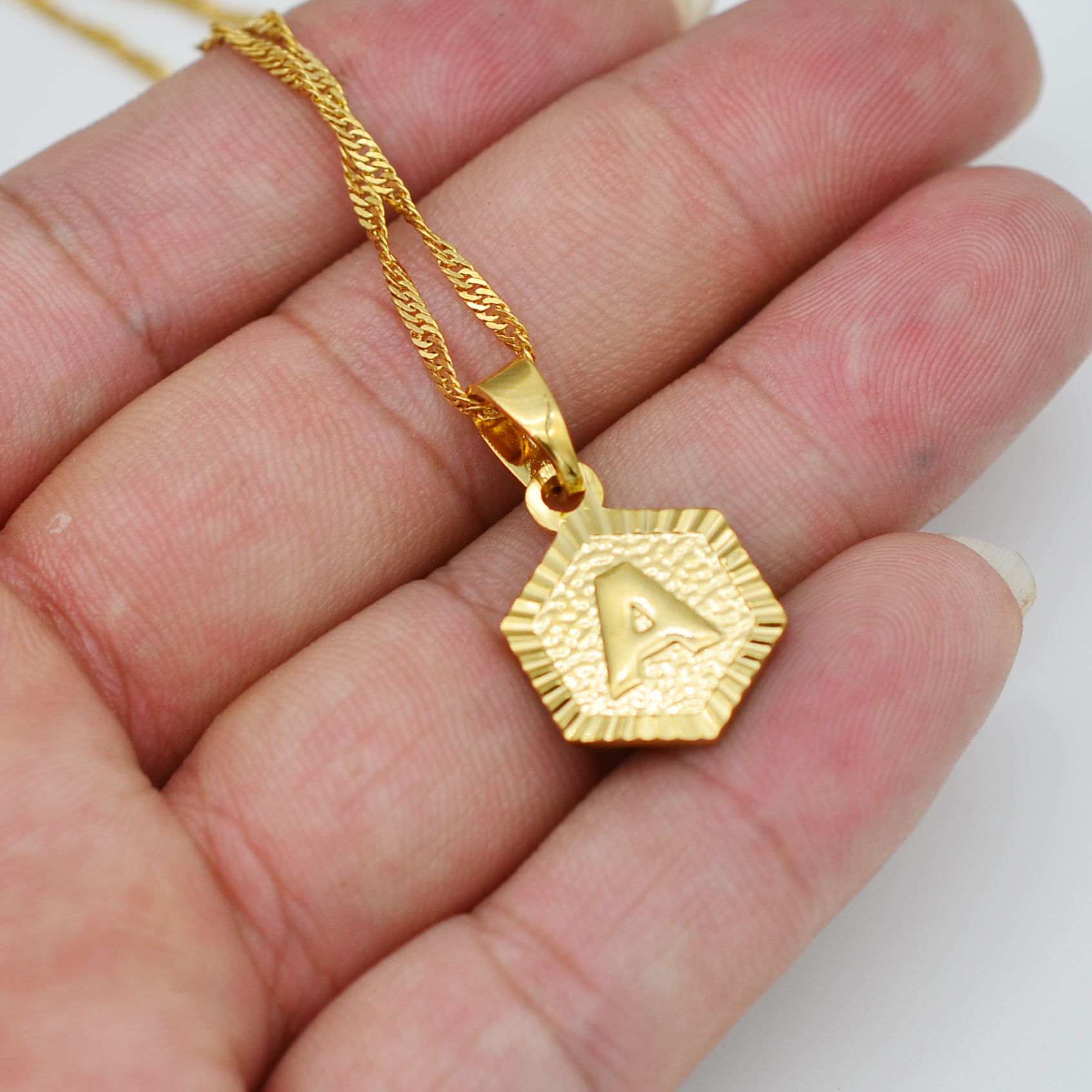 Women's Letter Pendant Necklace Jewelry Necklaces Women Jewelry