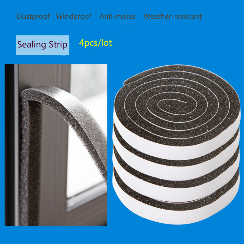 Superior 4pcs/lot Creative Window Seals Adhesive Weatherstrip Dust Wind Noise  Abatement, Doors Sticker Windows Seal Gaps Four Loaded On Aliexpress.com    Alibaba ...