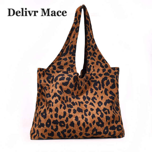 Tote Bag for Women 2018 Casual Leopard Female Handbags Women Shoulder Bags  Large Capacity Bolsa Feminina e8e68bbe17264