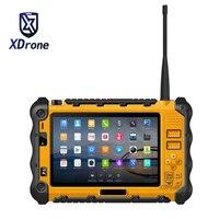 Китай P12 прочный промышленный Водонепроницаемый противоударный Android Tablet PC UHF PTT Walkie talkie Радио 7 дюймов 3 GB Оперативная память двойная SIM GPS 4G