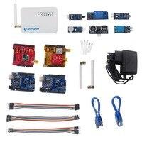 Cho Dragino LoRa Iốt Kit Phát Triển Internet của sự vật với LG01-P LoRa Gateway LoRa/GPS Lá Chắn 433 mhz 868 mhz 915 mhz
