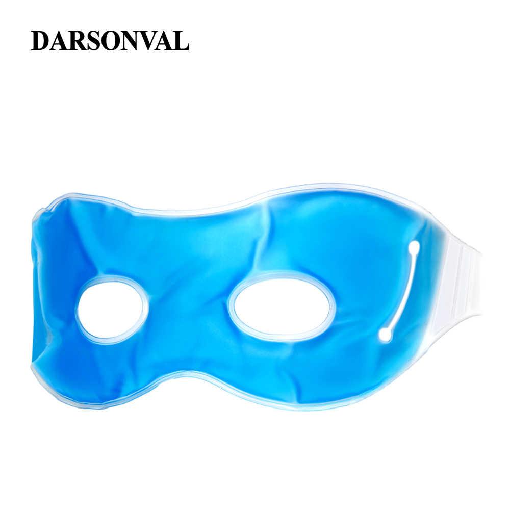 Darsonval Panas Dingin Tidur Masker Mata Es Dingin Biru Kompres Gel Pelindung Mata Kelelahan Relief Mata Santai Menghapus Gelap Lingkaran