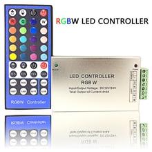 40 Keys IR RGBW LED Controller Input Voltage DC12V 16A Use for SMD 3528 5050 RGBW Light String Distance 10 Meters Big Power