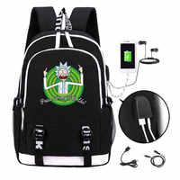 Rick and Morty backpack 2019 Trendy usb laptop school bag for girls boys teenagers children's cool bookbag