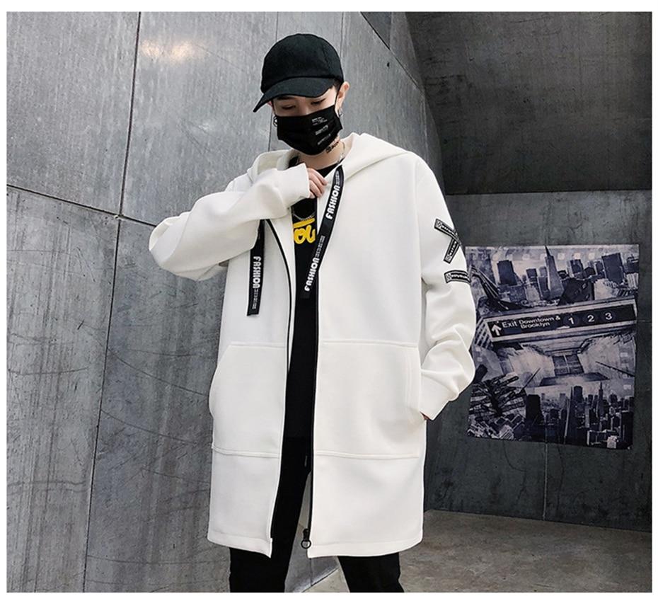 HTB1MqArK9zqK1RjSZFHq6z3CpXao Long Jacket Men Print Fashion 2019 Spring Harajuku Windbreaker Overcoat Male Casual Outwear Hip Hop Streetwear Coats WG198