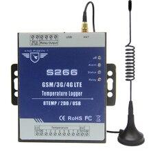 GSM 3G 4G LTE נייד RTU טלמטריה טמפרטורת נתונים לוגר 8 ערוץ טמפרטורת ניטור התראה באמצעות SMS/ שיחת/GPRS S266