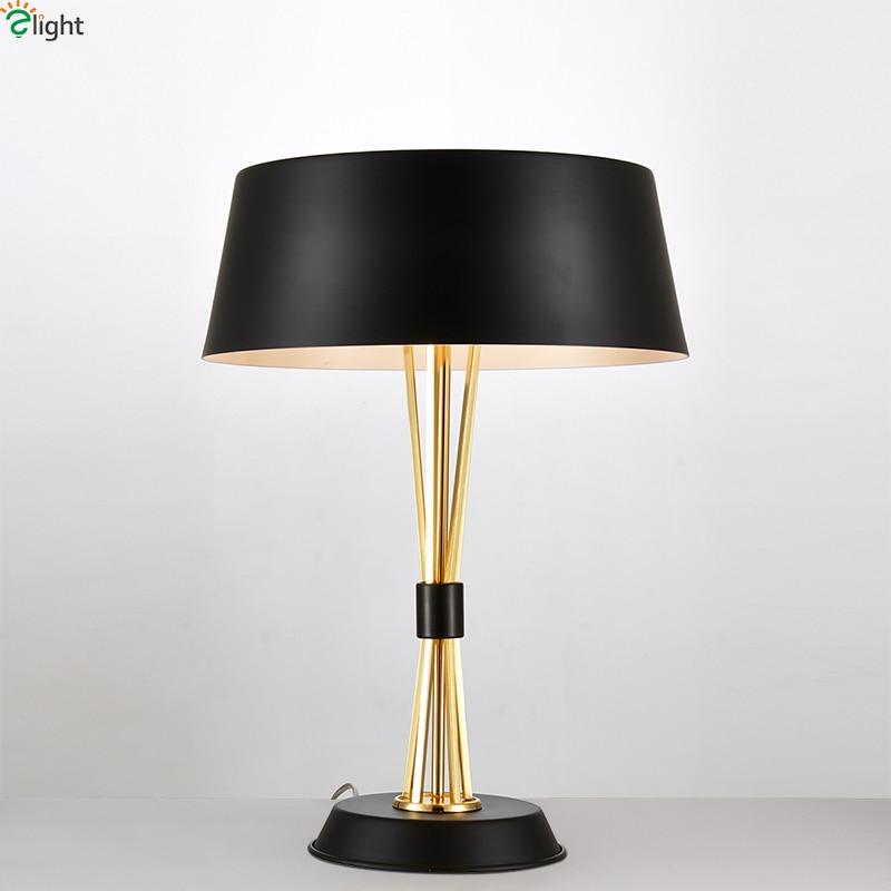 Us 19594 44 Offnowoczesny Połysk Złoty Metal Led Lampa Stołowa Luminaria Sypialnia Led Lampy Stołowe Oprawy Dzienny Roomtable U Nas Państwo Lampy