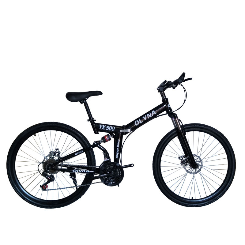 Foldable Bicycle 26-Inch Adult Mountain Bike 21/24/27 Speed High Carbon Steel Mountain Bicycles Sport Men Women Bicicleta