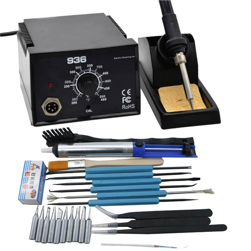 Strong Power High Quality 600W  Soldering Station Electric Solder Iron  936  Better Than For Hakko 936(China)