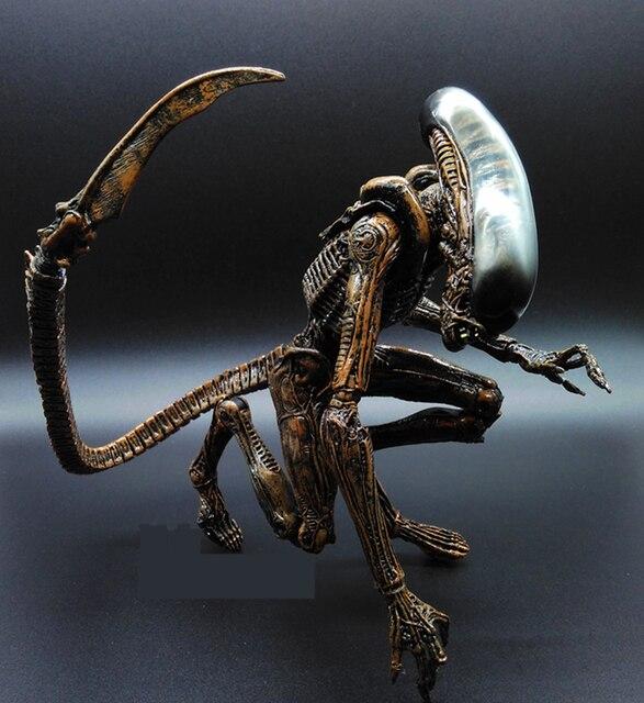 Alien vs Predator AVP SAINTGI 1 unid ABS 20 cm Figura de Acción modelo Collectie Brinquedos juguete PELÍCULA Película opp Scar Predator REINA