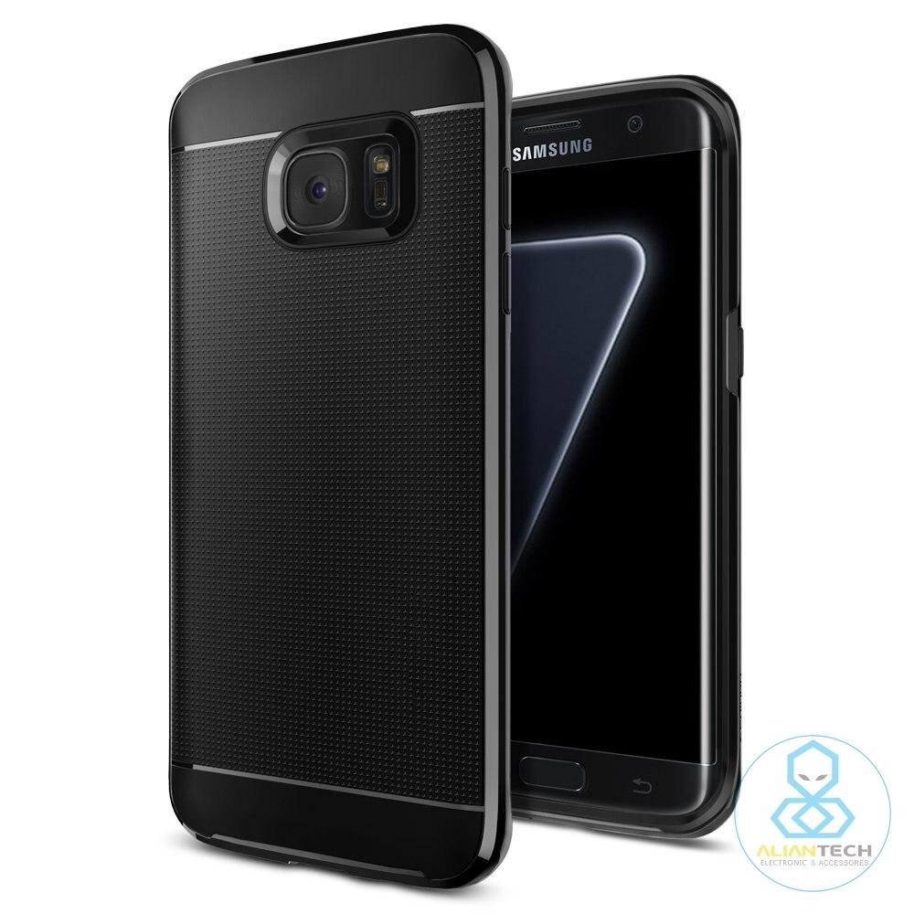 imágenes para Caso clásico Caso Híbrido para Galaxy S7 Borde Suave Interior y Borde Duro Marco Diseñado para Samsung Galaxy S7