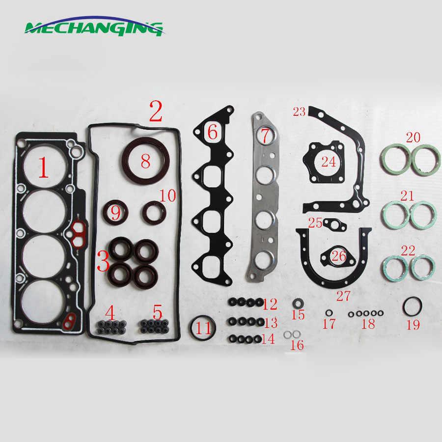 4AFE 4A-FE For TOYOTA COROLLA SPRINTER CARINA Engine Rebuild Kits Engine  Parts Full Set Engine Gasket 04111-16231 50168100