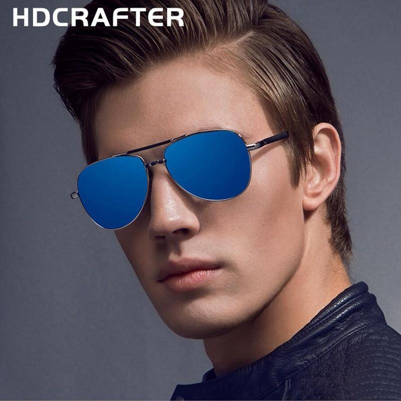974e7b6db 2017 New High Quality Men's Aluminum Magnesium Business Casual Sunglasses  Men Polarizing Driving Glasses Fishing Eye Glasses-in Sunglasses from Men's  ...