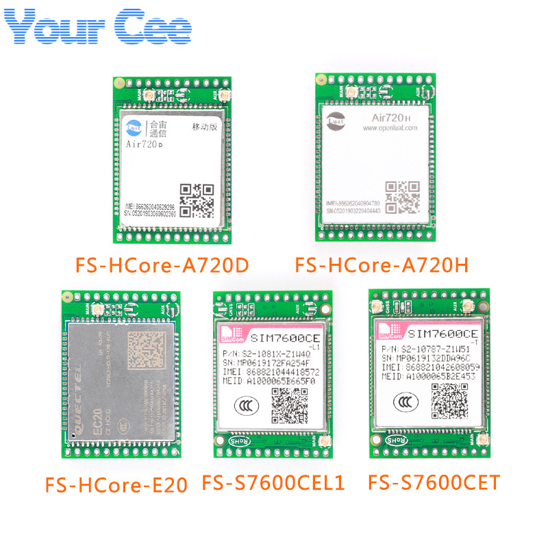 4G Module Development Board LTE Core Board SIM7600CE Air720D Air720H EC20 GPS Position Wireless Module Support FTPS/HTTPS/DNS(China)