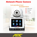 Network phone camera support wireless video camera  ip camera wifi recorder home best Security alarm system