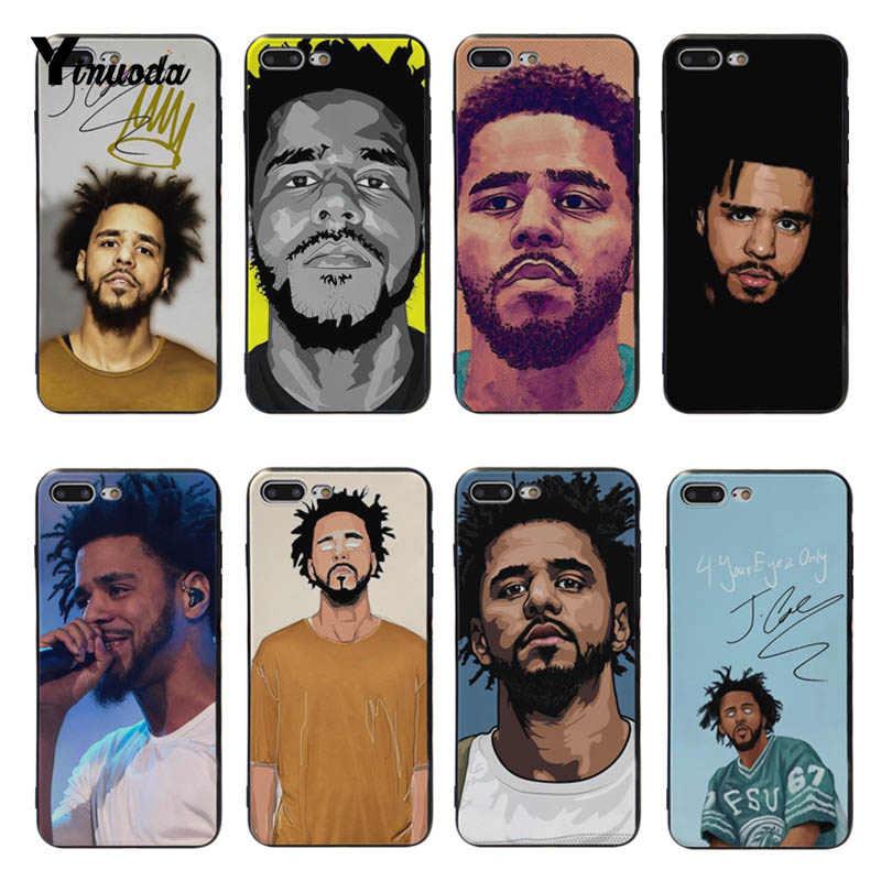 Yinuoda Singer J. Cole новые персонализированные аксессуары для телефонов с принтом чехол для iPhone 8 7 6 6 S Plus X XS max XR чехлы