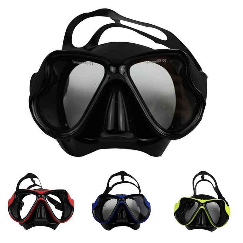 المهنية النظر و طول العتاد السباحة نظارات المياه الرياضة spearfishing الغوص الغوص قناع