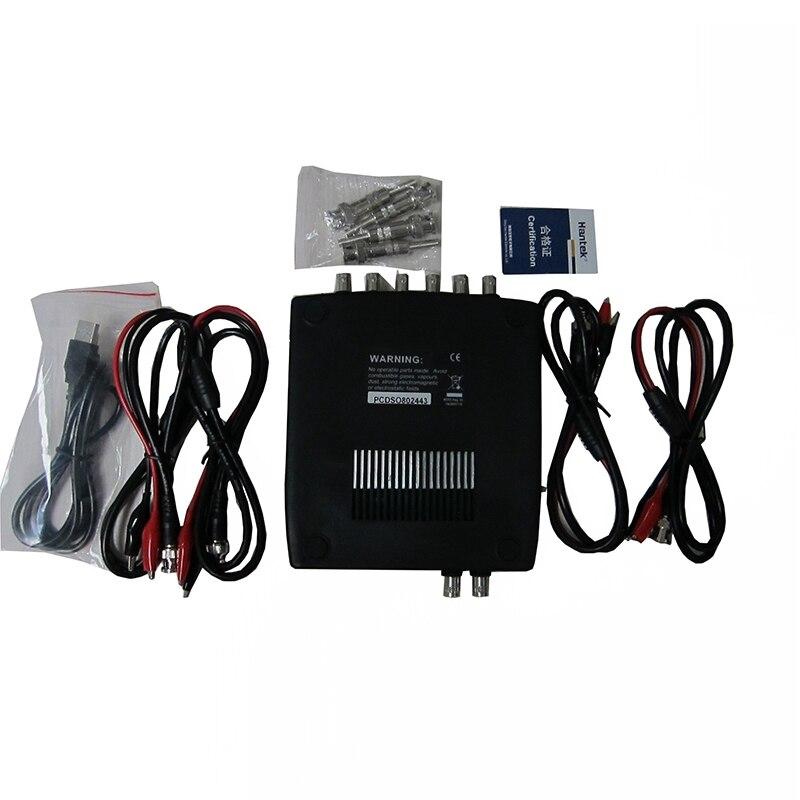 Hantek 1008A 8CH PC Digital Oscilloscopes Programmable Generator Vehicle Testing 2.4MSa/s Real Time Sampling Rate USB 8CH Oscill