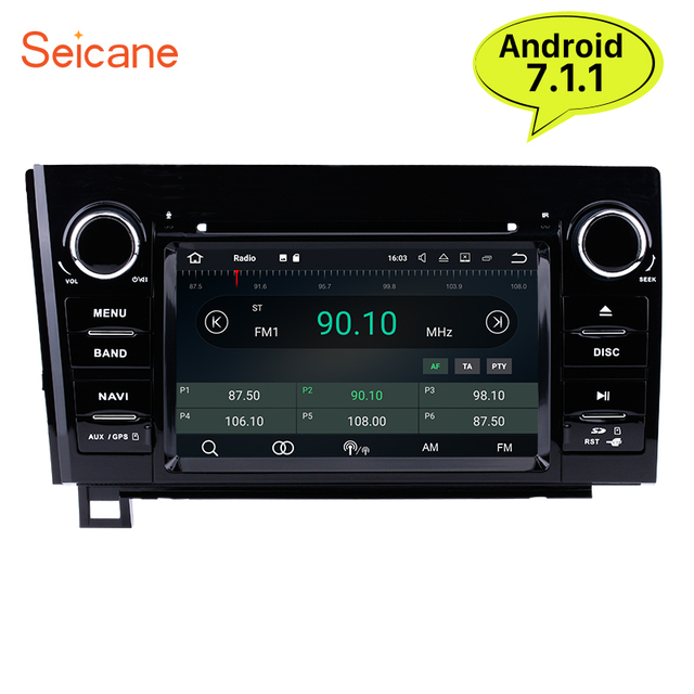seicane 2din android 7 1 7 car radio gps navigation multimedia rh aliexpress com 2008 Toyota Tundra Radio Replacement 2007 Chevy Trailblazer Manual