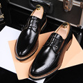 New Arrival Men's Shoes Genuine Leather Dress Flat Shoes Fashion Oxford Shoes Brand Men Loafers Men Shoes Leather Free Shipping