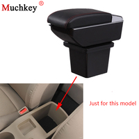 Armrest box For Hyundai I30 Central Console Arm Store content box cup holder ashtray With Rise and Down Function Car Styling