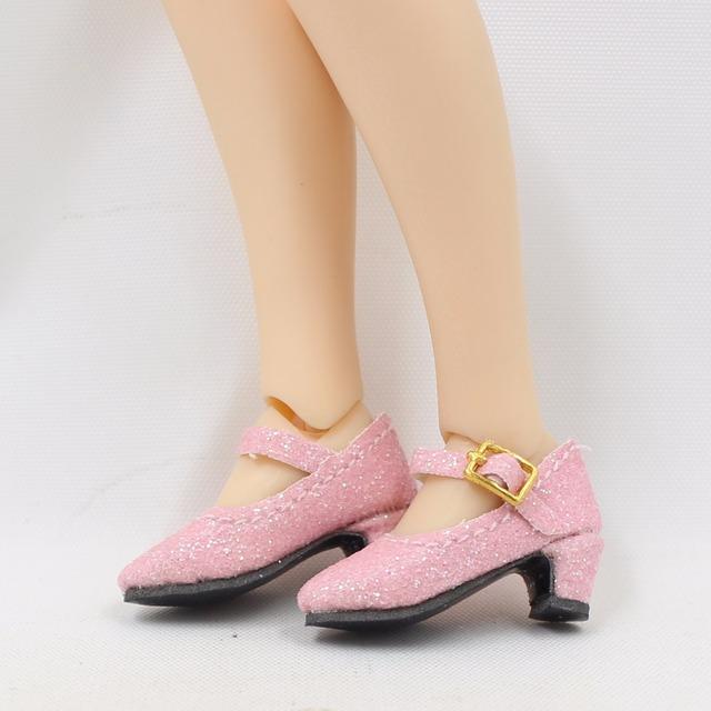 Neo Blythe თოჯინა Bling ელეგანტური ფეხსაცმელი
