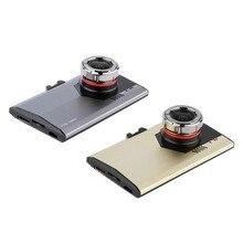 3,0 «Full HD Ночное видение 1080 P Ультратонкий автомобиль Камера Встроенный видео Камера 500 мегапиксельная DVR микрофон регистраторы