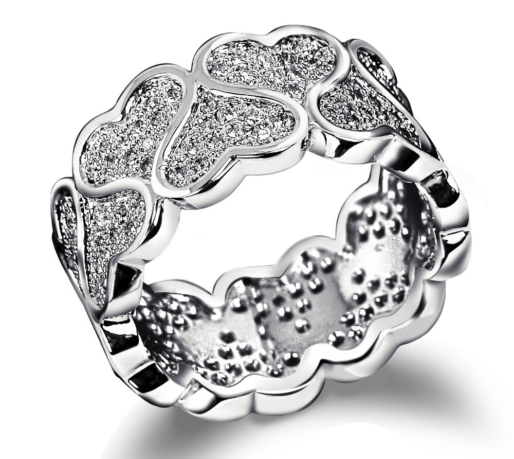 New arrival jewelry 2014 Latest Design Hearts Pattern Wedding ...