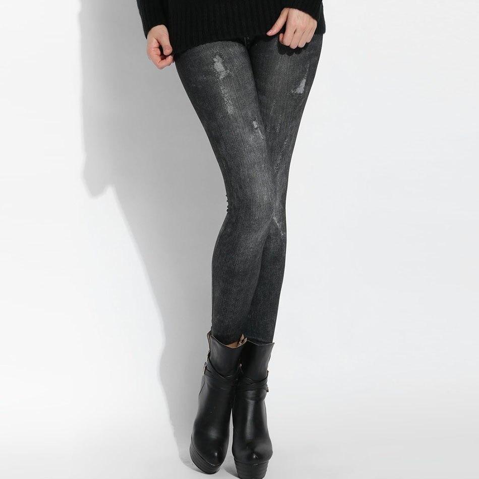 2017 Women Slim Leggings Fitness Slim Legging High Waist ...