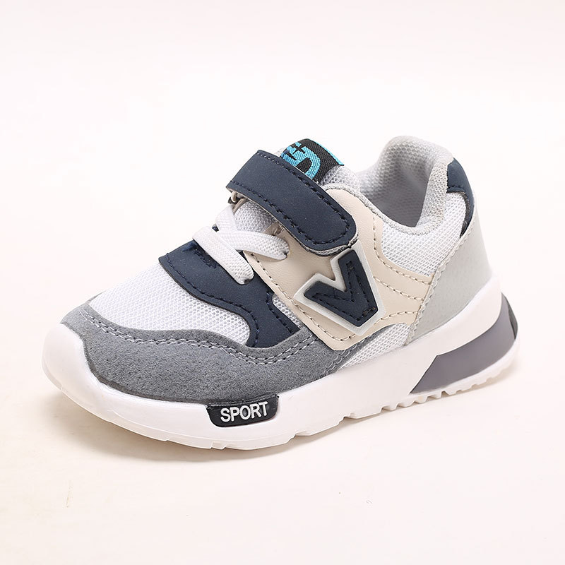 2018 Hook&Loop hot sales baby footwear breathable casual baby shoes high quality girls boys sneakers cute Lovely baby toddlers