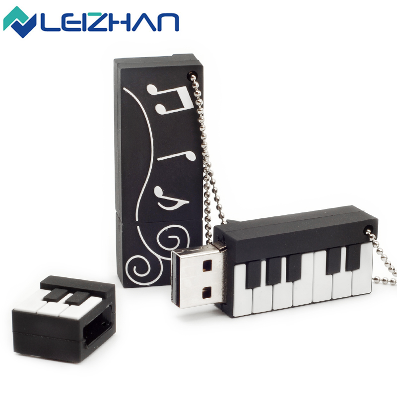 Jamescool Store LEIZHAN USB Flash Drive Piano Model U Stick 64G 32G Pendrive 16G Memory U Disk 8G Pen Drive 4G Storage External Device USB Disk